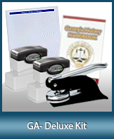 The highest-quality arrangement of money-saving notary supplies for Georgia. FAST delivery!
