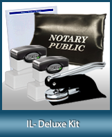The highest-quality arrangement of money-saving notary supplies for Illinois. FAST delivery!