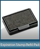 EXP-PAD-30 - Expriration & Affidavit Stamp Refill Pad