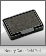 Self-Inking Dater Refill Pad