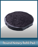 EXP-PAD-RND - Round Self-Inking