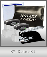 The highest-quality arrangement of money-saving notary supplies for Kentucky. FAST delivery!