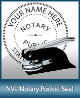 This Nevada notary seal is made to last. This quality, affordable notary embosser can be purchased right here.