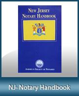 NJ-HBK - New Jersey Notary Handbook