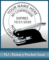 This New Jersey notary seal is made to last. This quality, affordable notary embosser can be purchased right here.
