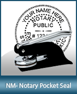 This New Mexico notary seal is made to last. This quality, affordable notary embosser can be purchased right here.