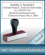 New York Notary Supplies - Stamps