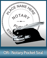 This Oregon notary seal is made to last. This quality, affordable notary embosser can be purchased right here.