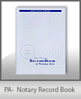 This Pennsylvania Notary Record Book, also known as a Notary Journal is an essential product for all notaries.