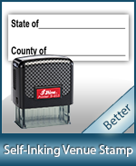 Venue Notary Stamp for all states. Huge Selection of Notary Supplies. Order Online or Call Today. Fast Shipping