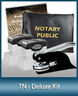 The highest-quality arrangement of money-saving notary supplies for Tennessee. FAST delivery!