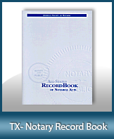 This Texas Notary Record Book, also known as a Notary Journal is an essential product for all notaries.