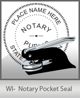 This Wisconsin Notary Seal Is Made To Last Quality Affordable Embosser Can