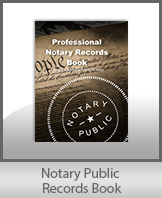 Low Prices for this excellent notary records journal book and notary supplies. We are known for quality notary products and excellent service. Ships Next Day