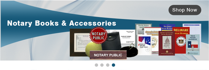 Notary Books, Notary Accessories, Notary Business Cards, Foil Seals