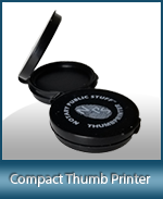 THUMB-PTR - Compact Inkless Ceramic Thumb Printer